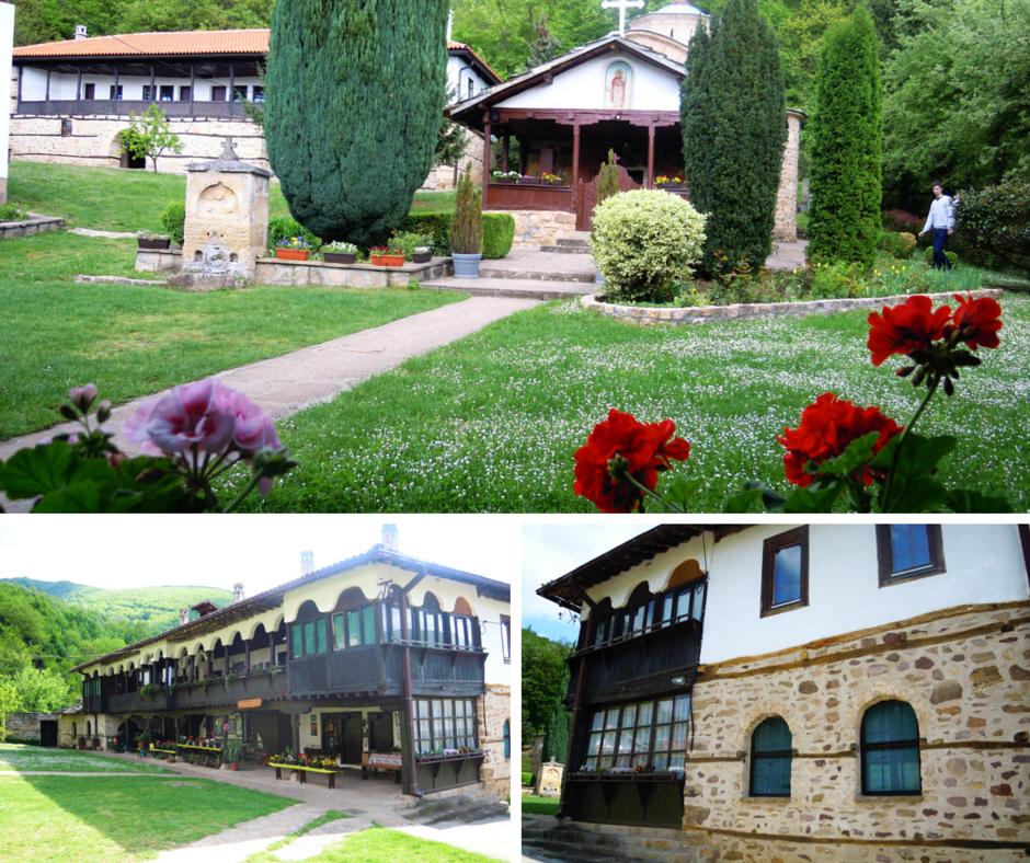 Manastir u selu temska